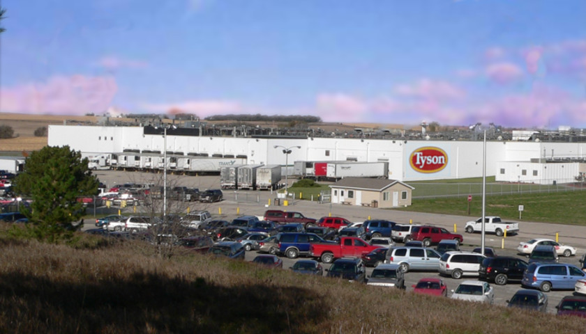 Tyson meat processing