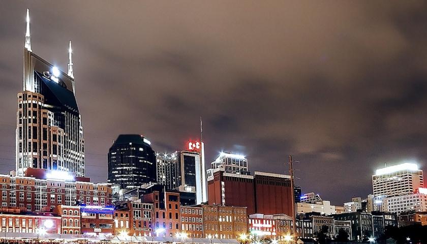 Nashville City at night