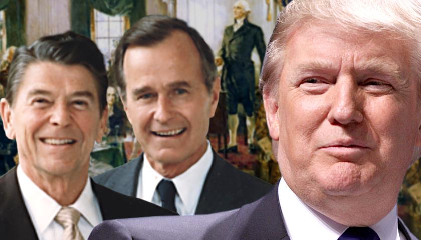 Founding Fathers, Reagan-Bush, Trump