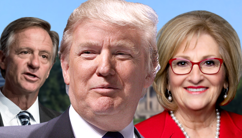 Bill Haslam, Donald Trump, Diane Black