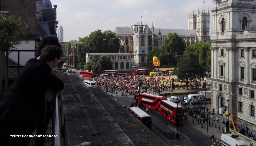 London Trump protest