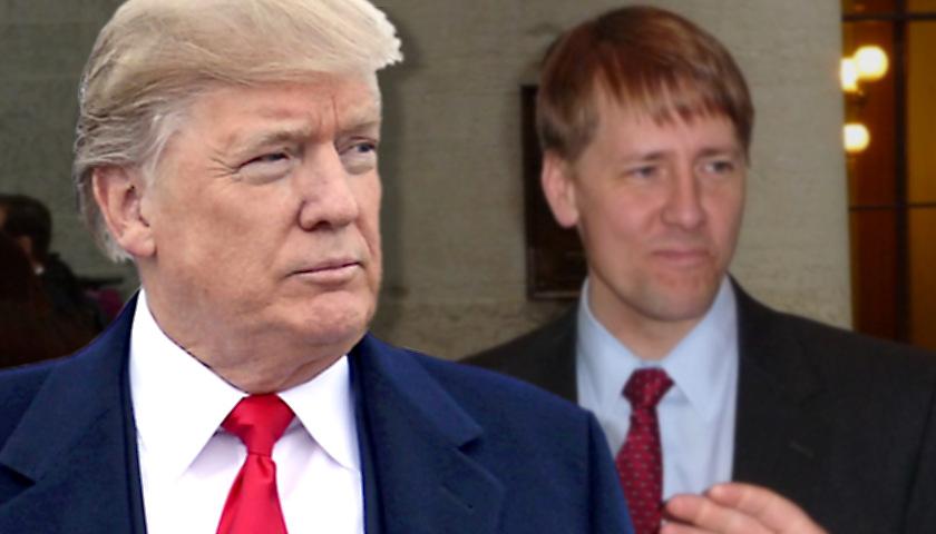 Donald Trump, Richard Cordray