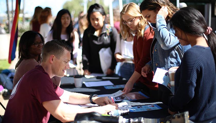 Students at Point Loma Nazarene University