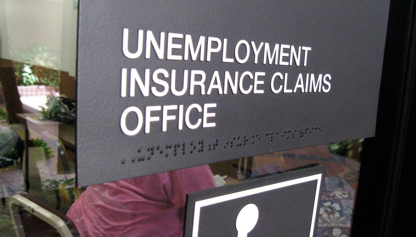 "Photo ""Unemployment Insurance Claims Office"" by Bytemarks. CC BY 2.0."