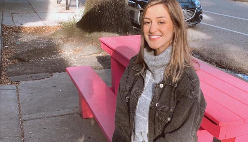 Emily Hines of Louisiana State University