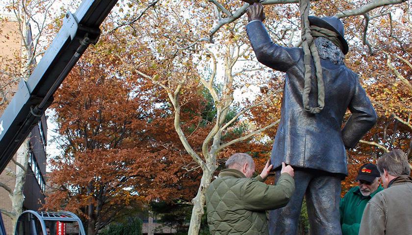 Rutgers University-Camden Walt Whitman statue