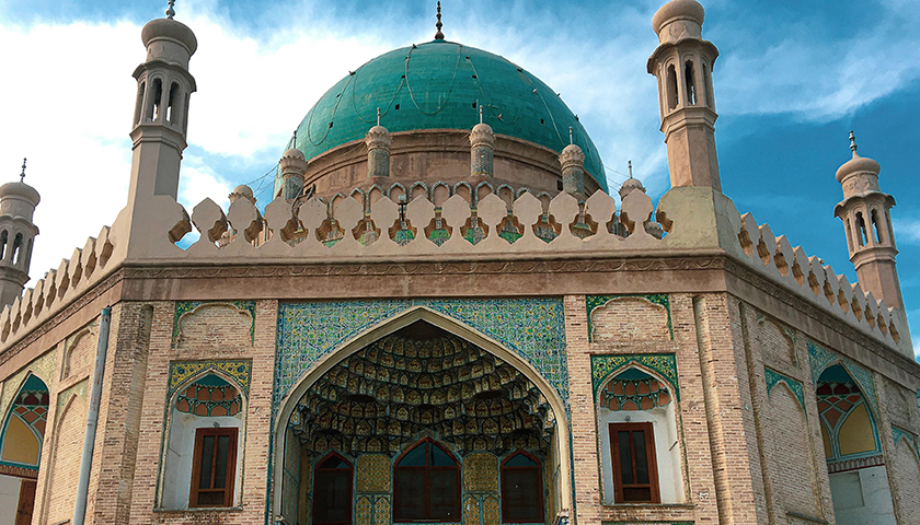 Afghanistan mosque